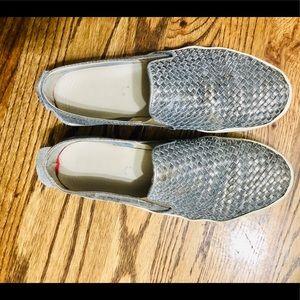 Grey/ Silver Fashion Flats